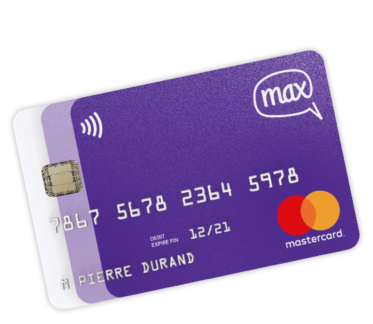 La carte bancaire Max