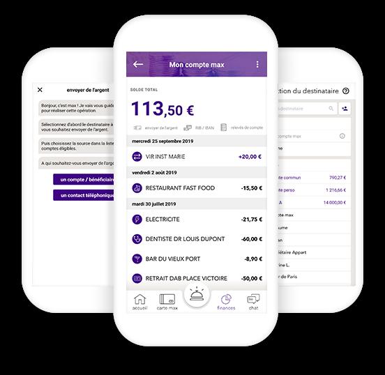 telephone application max compte gratuit